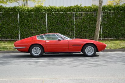 1970 MASERATI GHIBLI 4.7L  Châssis n° AM*115*1504  Carte grise française Au salon...