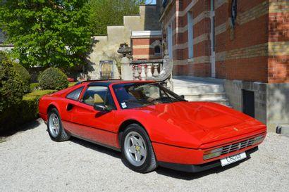 1987 FERRARI 328 GTS  Châssis n° ZFFWA20B000072953...