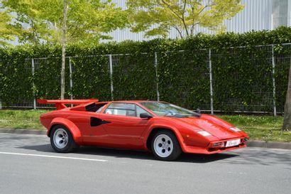 1983 LAMBORGHINI COUNTACH  Châssis n° ZA9C00500DLA12588...