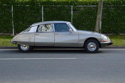 c1971 CITROEN DS 21 M IE  Carte grise française Véritable bombe du salon de Paris...