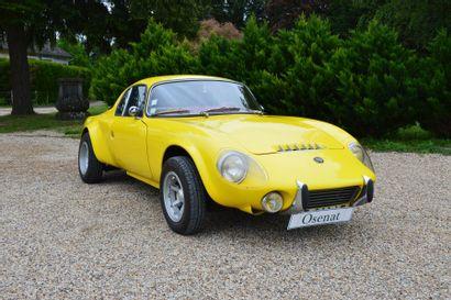 1968 MATRA JET 6  Châssis n° 30142  Carte...