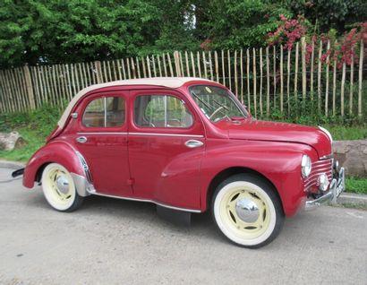 1951 RENAULT 4CV DécapotableGrand Luxe...