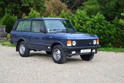 1990 RANGE ROVER 2 portes ; V8 de 3.9 L...