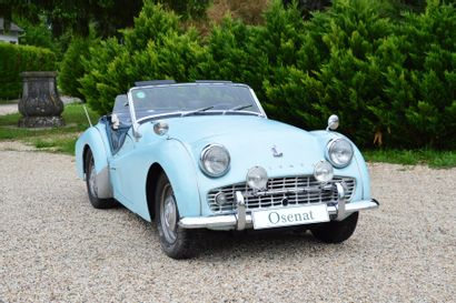 1959 TRIUMPH TR3 A Hard Top Châssis n° TS46190L0...