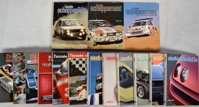 « L'Année Automobile »  Collection de l'annuel...