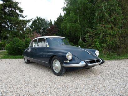 1965 CITROEN ID 19 Châssis n° 3 647 105...
