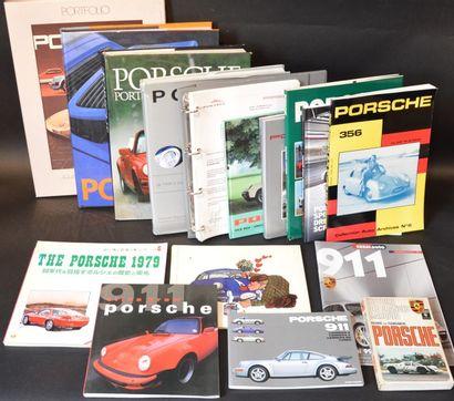 « Livres sur Porsche »  Lot de 14 ouvrages...