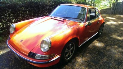1969 PORSCHE 911 E 2.0L Châssis n° 119220908...