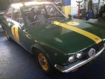 1971 FIAT 124 COUPE Châssis n° 0153658 Titre...