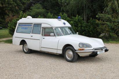 1972 CITROEN ID 21 F CURRUS Châssis n° 357106121224...