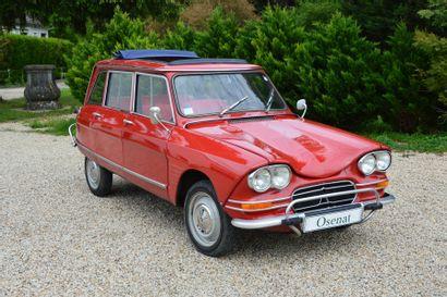 1968 CITROEN AMI 6 BREAK Châssis n° 232388...