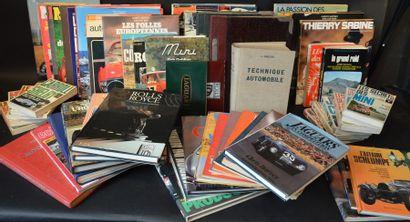 « Ouvrages sur l'Automobile »  Lot d'ouvrages...
