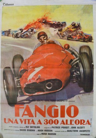 A. GINELLO « Fangio, una vita a 300 all'ora...