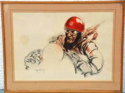 Géo HAM (Georges Hamel) (1900-1972)   « Pilote...