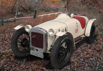 1933 AUSTIN Seven « Grand Prix Spéciale »