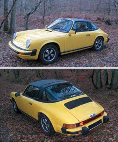 1975 PORSCHE 911 2,7 L Targa