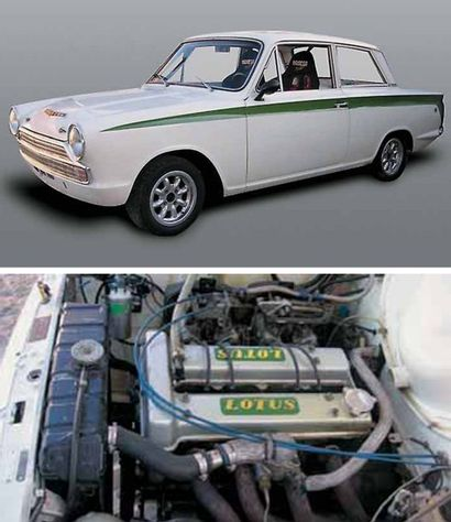 1966 FORD Cortina Lotus