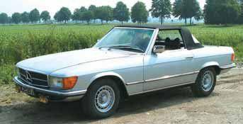 1979 MERCEDES BENZ 280 SL