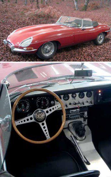 1963 JAGUAR Type E Cabriolet S1 « flatfloor »