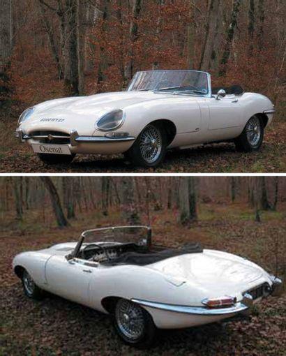 1962 JAGUAR Type E 3,8 L Cabriolet