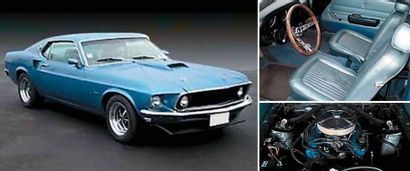 1969 FORD Mustang Fastback V8