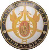 Plaque émaillée « Automobile Club Jurassien...
