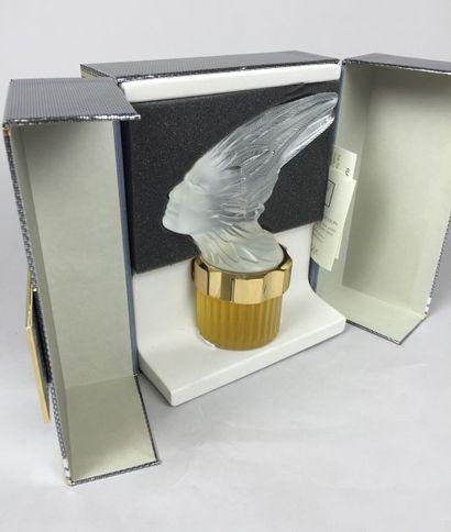 LALIQUE FLACON de parfum de collection pour homme. Série mascotte PHENIX en cristal...