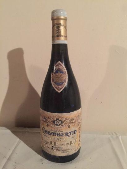 1 BLLE CHAMBERTIN (Armand Rousseau) 1987...