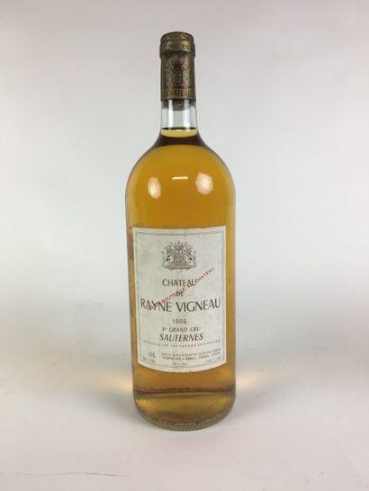 1 MAG Château RAYNE VIGNEAU (Sauternes) 1986...