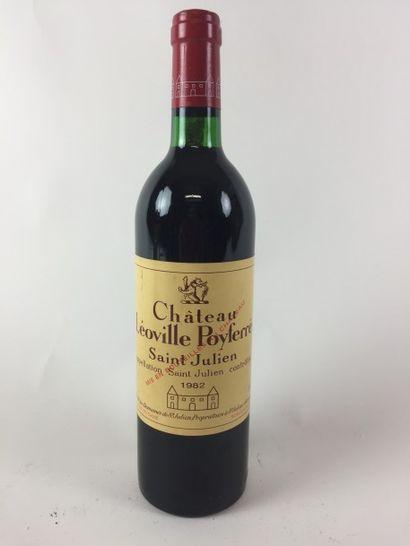 1 BLLE Château LEOVILLE POYFERRE (st Julien)...