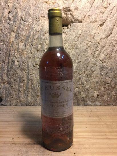 3 BLLE Château RIEUSSEC (Sauternes) 1978...