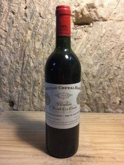 1 BLLE Château CHEVAL BLANC (St Emilion 1er GCC) 1978 NLB