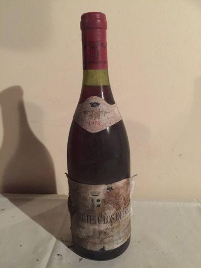 1 BLLE CHAMBERTIN CLOS DE BEZE (Armand Rousseau)...