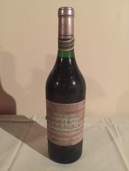 1 BLLE Château HAUT BRION (Graves) 1970 Etiquette...