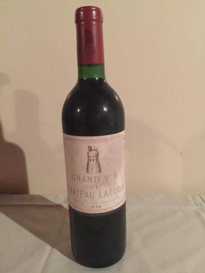 1 BLLE Château LATOUR (Pauillac) 1970 Be...