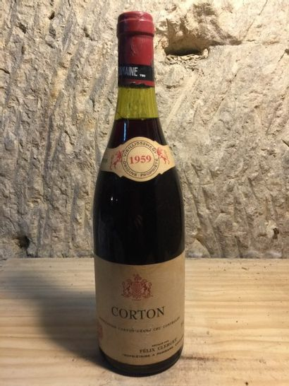 1 BLLE CORTON (F.Clerget) 1959 Très bell...