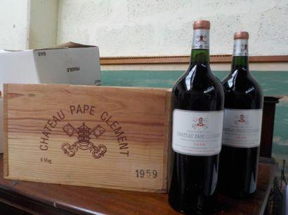 6 MAG Château PAPE CLEMENT (Graves) CBO 1959...
