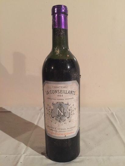 1 BLLE Château LA CONSEILLANTE (Pomerol)...