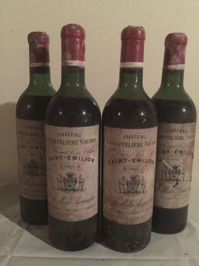 4 BLLE Château LA GAFFELIERE (St Emilion...