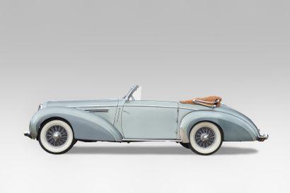 1949 DELAHAYE 135M CABRIOLETCHAPRON Châssis...