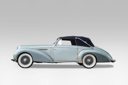 1949 DELAHAYE 135M CABRIOLETCHAPRON Châssis n° 801023 Carte grise française Le...