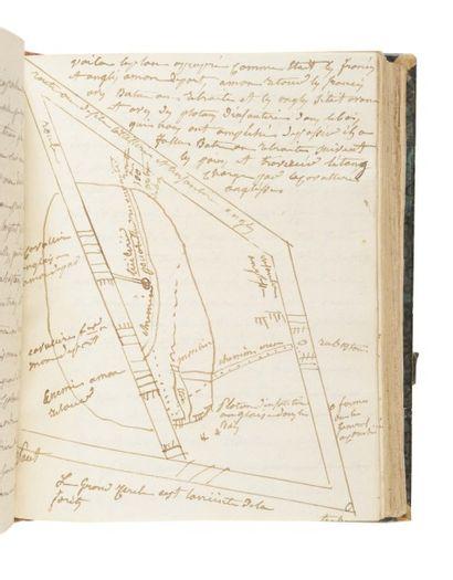 PELLERIN (Antoine). Manuscrit autographe...