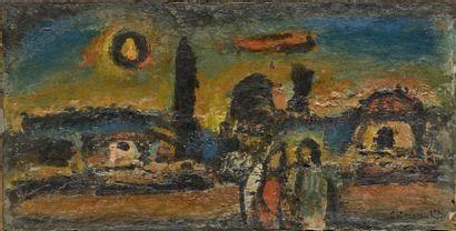 Georges ROUAULT (1871-1958) Crépuscule, vers...