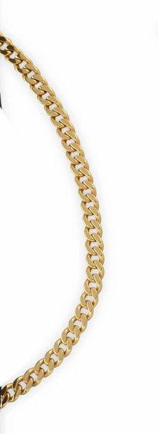 FRED COLLIER en or jaune composé d'une maille...