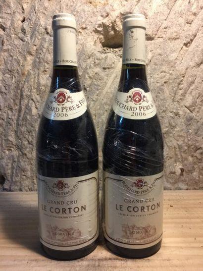 2 BLLE LE CORTON (Bouchard Père & Fils) 2006...