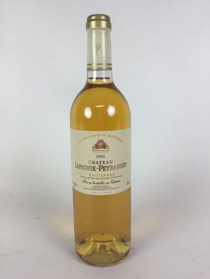 12 BLLE Château LAFAURIE PEYRAGUEY (sautrenes)...