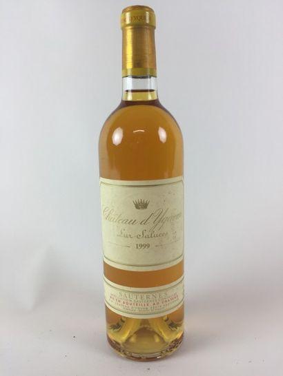 1 BLLE Château YQUEM (Sauternes) 1999 Très...