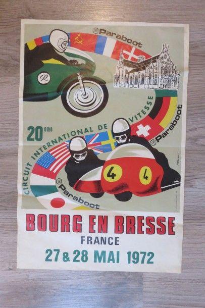 Affiches Bourg en Bresse 27&28 Mai 1972....