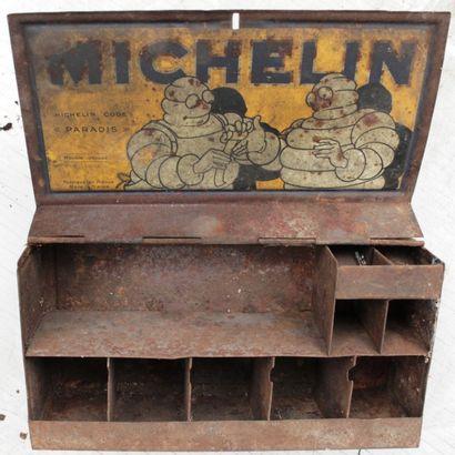 Boite metalique de rangement MICHELIN