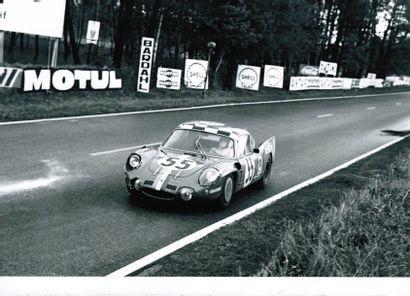 ALPINE A 210 PROTOTYPE châssis # 1725    3 participations aux 24 Heures du Mans...